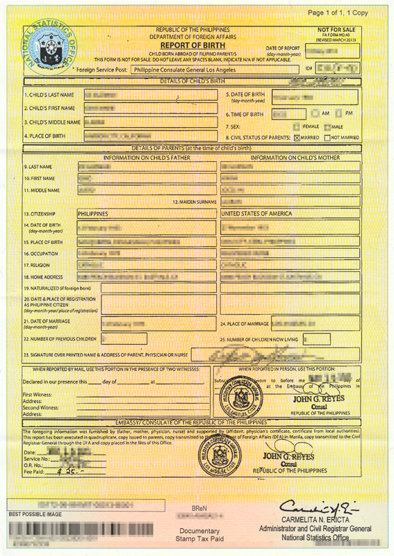 Nso marriage certificate correction