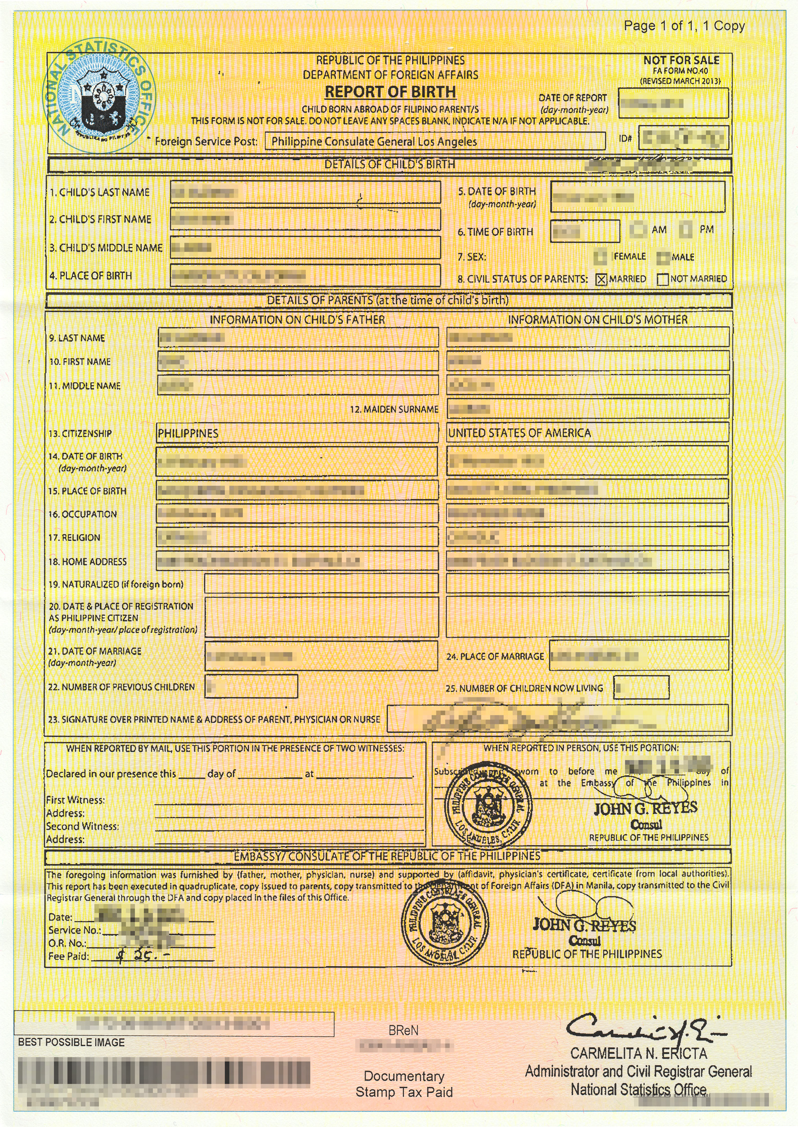 Birth certificate template philippines gallery certificate secpa birth certificate sample choice image certificate design birth certificate fee nso best design sertificate 2017 yadclub Gallery